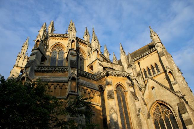 Le forme gotiche della cattedrale di Arundel