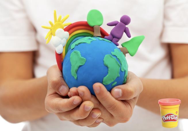 Un mondo fatto di pasta Play-Doh