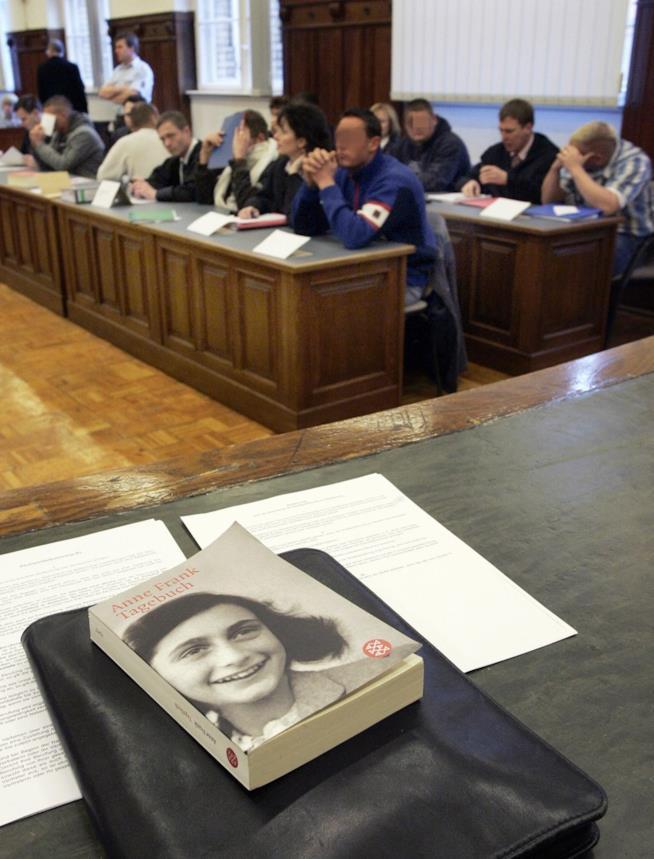 Il diario di Anna Frank, una copia del libro