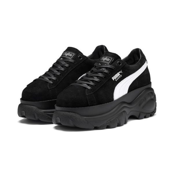 Sneakers PUMA x BUFFALO in pelle scamosciata nera