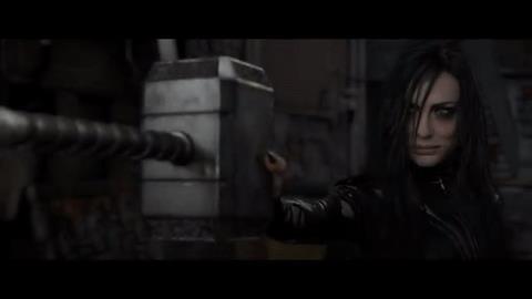 Cate Blanchett in una scena di Thor Ragnarok