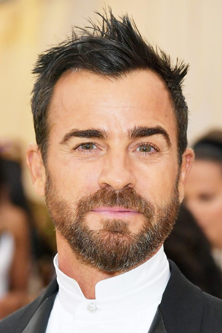 Justin Theroux in primo piano
