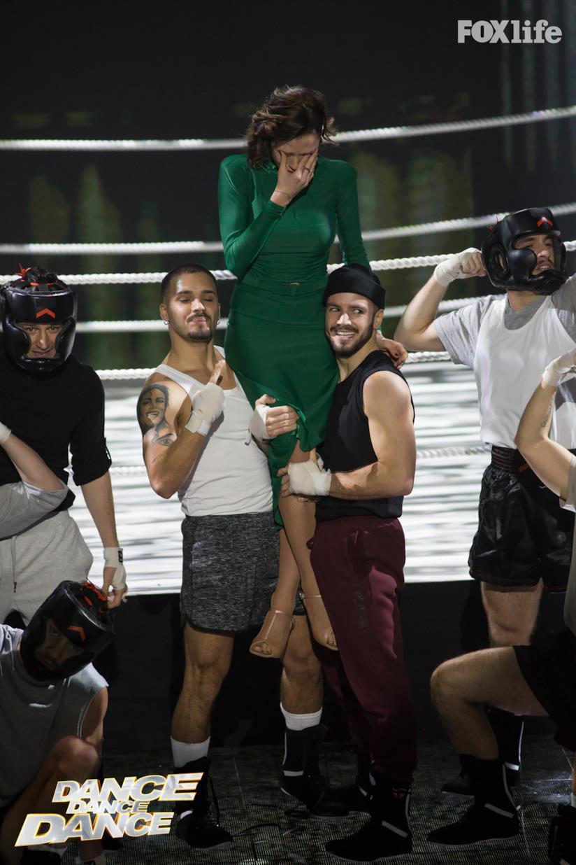 Silvia Provvedi a Dance Dance Dance