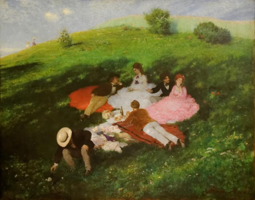 picnic-coperta-dipinto