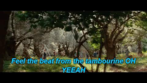 Una scena del film Mamma Mia!