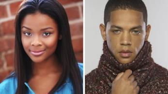 I due attori Jeremy Carver e Ajiona Alexus, nuovi ingressi di Empire 3