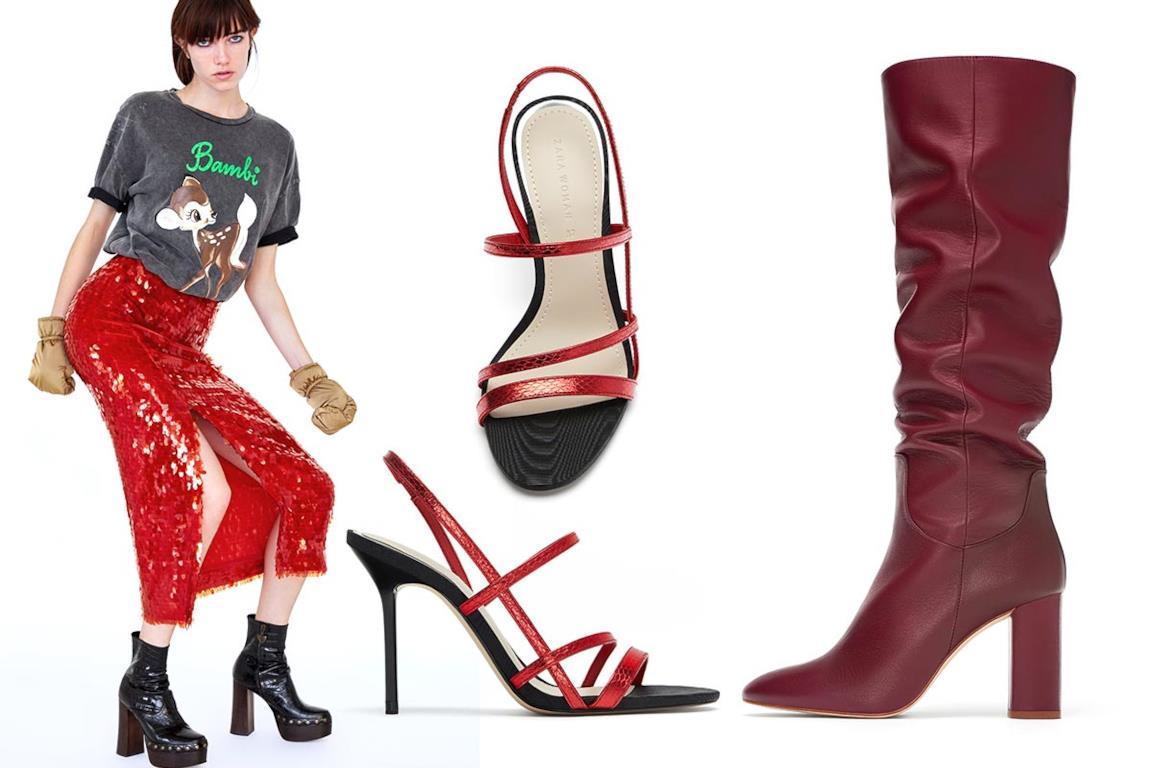 12d174e9e4 Zara Donna: vestiti, faux fur, cappotti, scarpe, borse fucsia e rosso