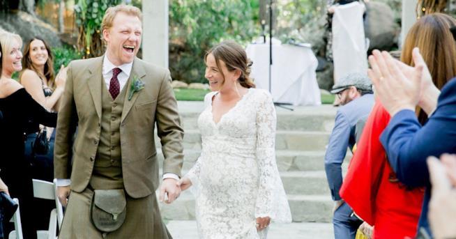 Il matrimonio di Kevin McKidd