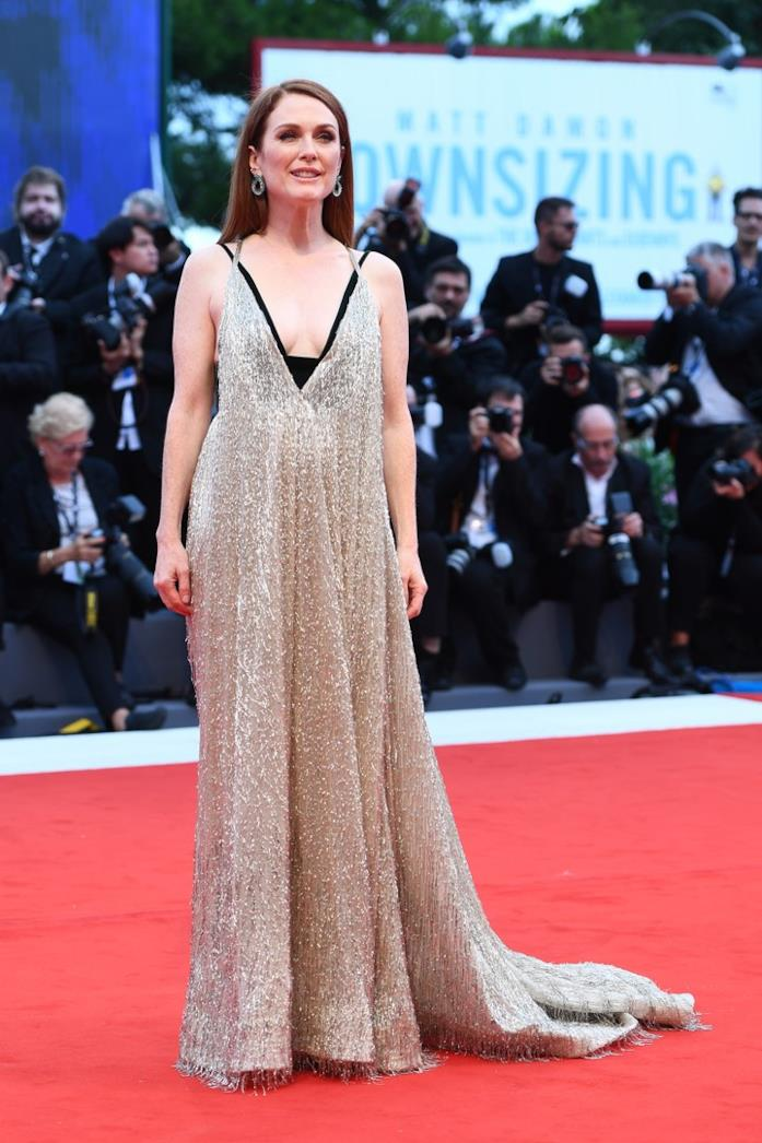 Julianne Moore a Venezia nel 2017