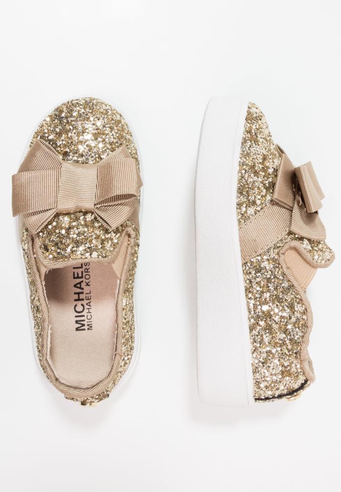 scarpe oro per bambine