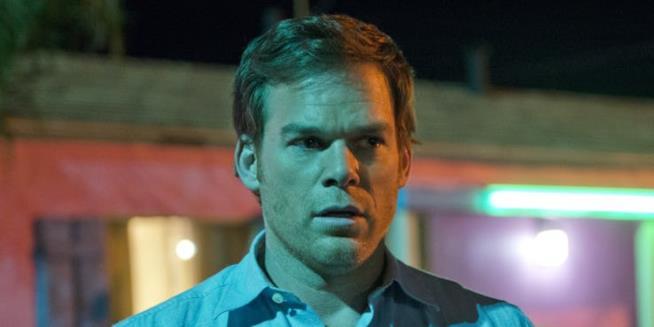 Primo piano di Dexter Morgan