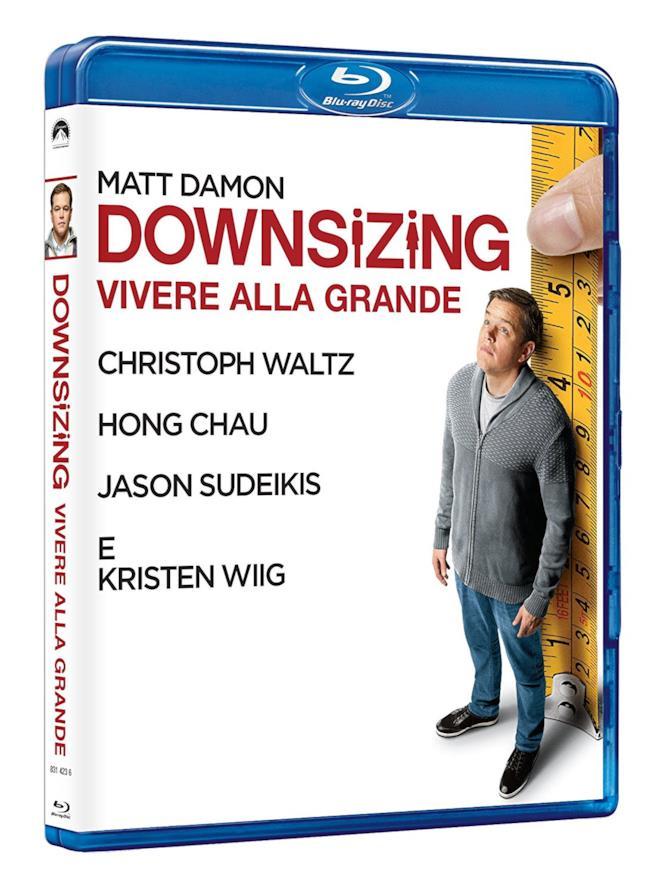 Il film Downsizing in Blu-Ray