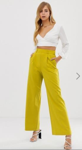 Pantaloni gialli