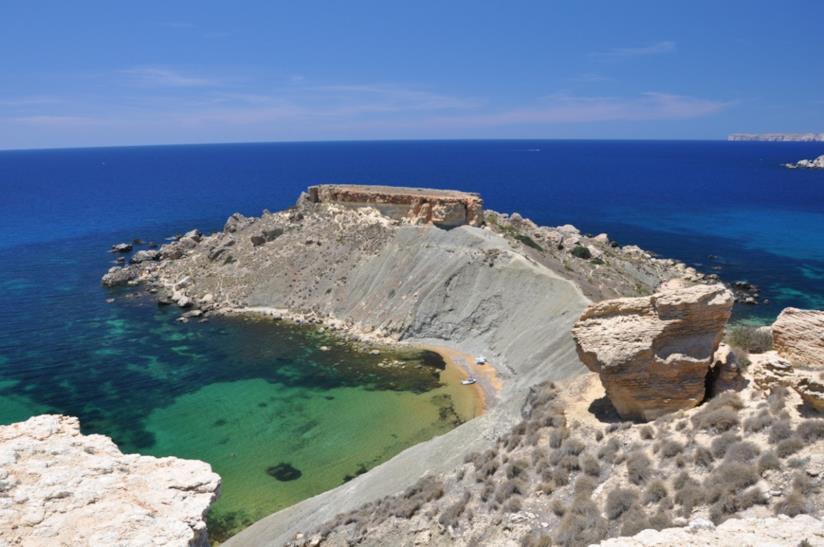 spiaggia Gnejna Bay, Malta