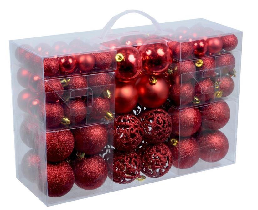 Palline di Natale rosse