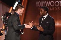 Chris Pratt e Chadwick Boseman