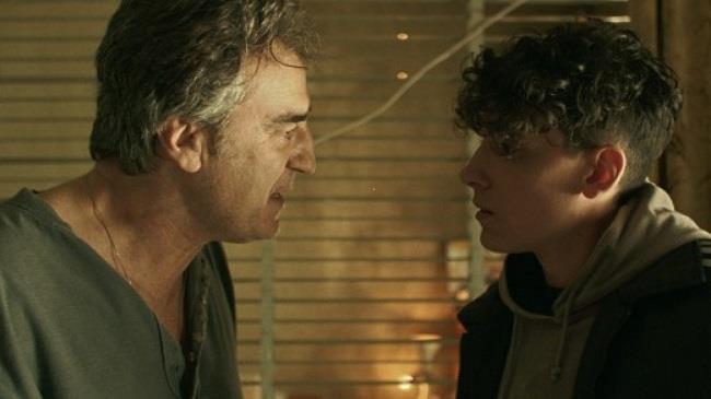 Foto dal set del film la terra dell'abbastanza