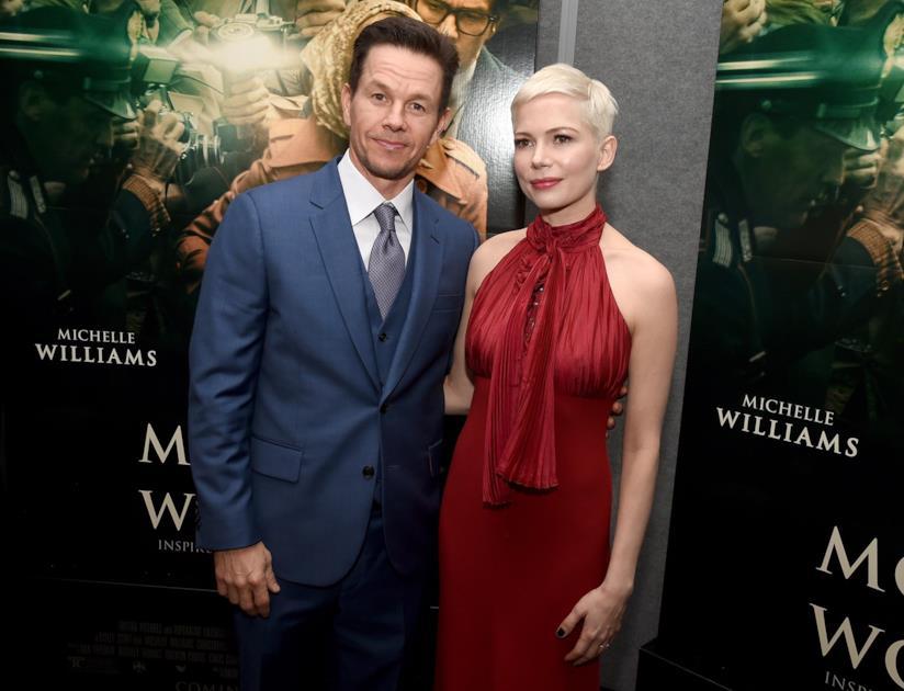Mark Wahlberg e Michelle Williams