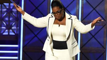 La regina della TV Oprah Winfrey
