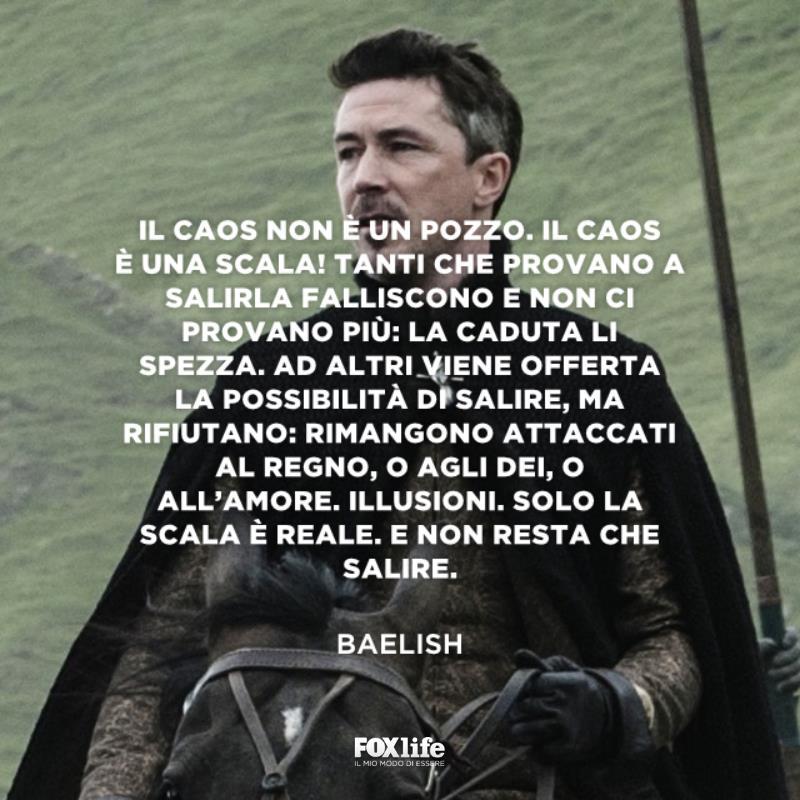 Baelish a cavallo