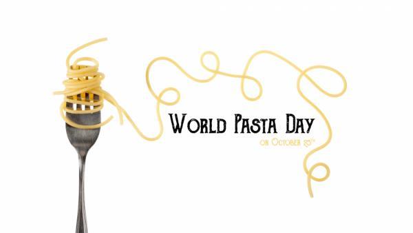 Il 25 ottobre si festeggia la Giornata mondiale della pasta