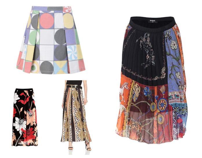 Foulard skirt, le gonne per l'estate 2018