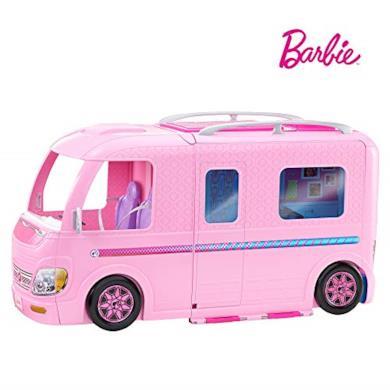 Barbie Camper dei Sogni con Piscina, Bagno, Cucina e Tanti Accessori, FBR34
