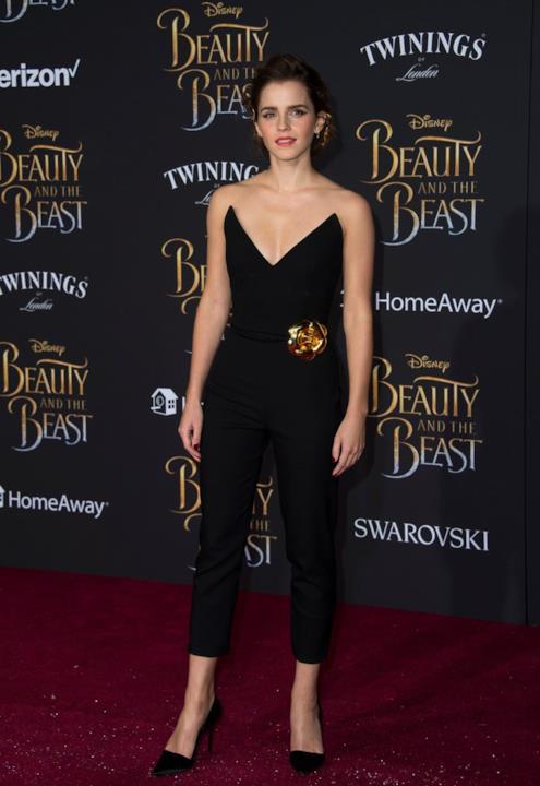 Uno dei look più belli adottati di recente da Emma Watson