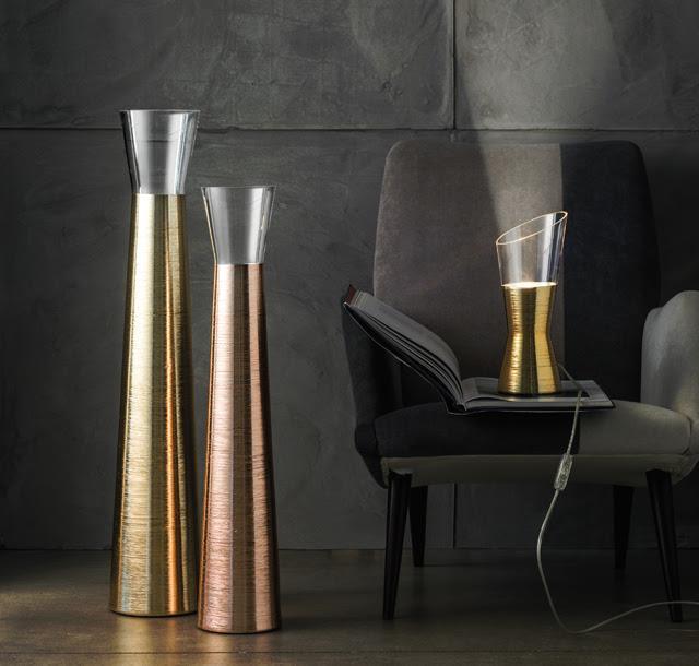 IVV, vasi e lampade della collezione Futura