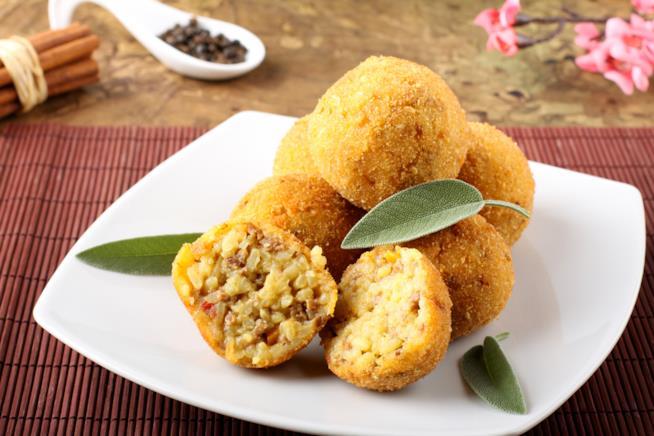 Arancini siciliani con il riso