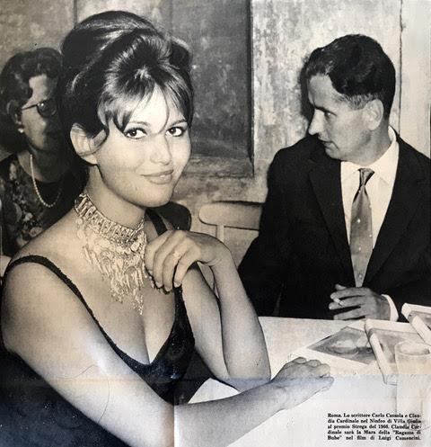 Claudia Cardinale e Carlo Cassola