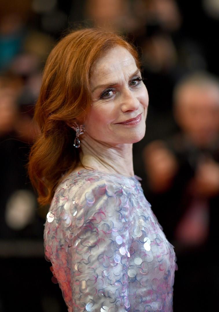 Isabelle Huppert a Cannes 2019