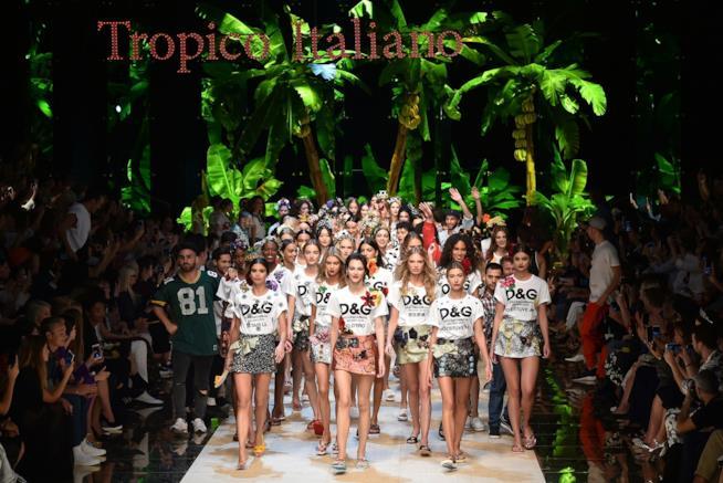 La collezione Tropico Italiano di Dolce & Gabbana
