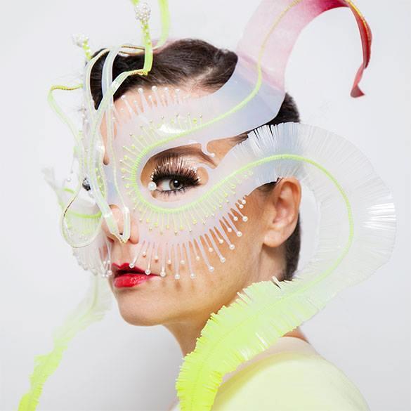Björk e le sue tante maschere