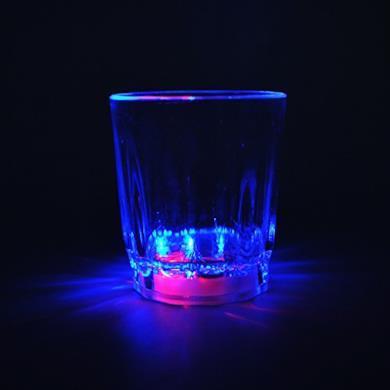 bicchieri di vino a LED in plastica infrangibile