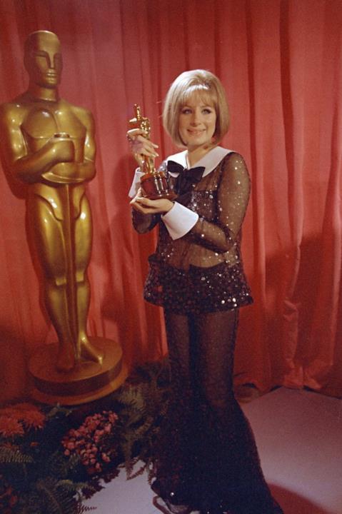 Barbra Streisand agli Oscar 1969