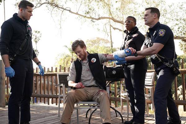 911: un'immagine promozionale dall'ottavo episodio
