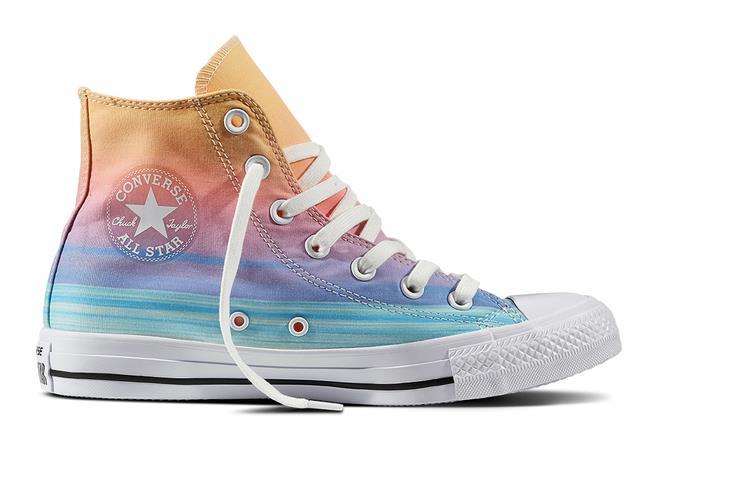 Modello colori pastello Converse All Star 2017