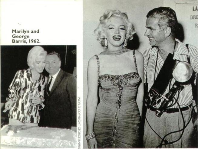 George Barris e Marilyn Monroe nel 1962