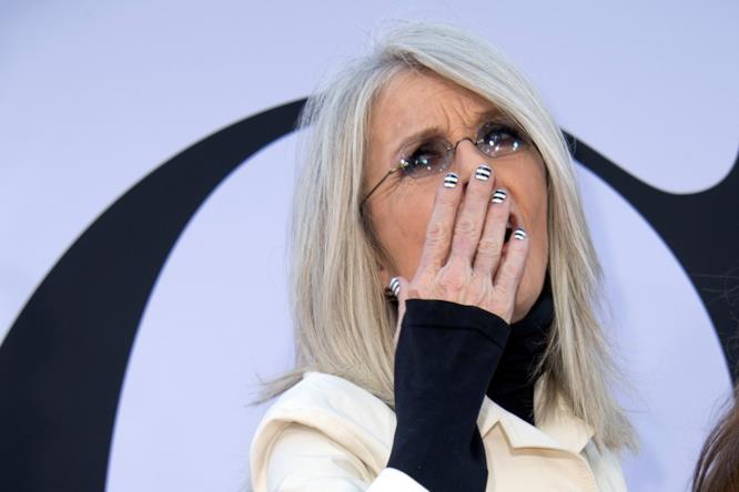 Diane Keaton durante un evento