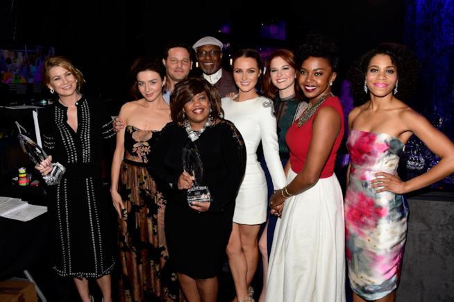 Il cast di Grey's Anatomy ai People's Choice Awards