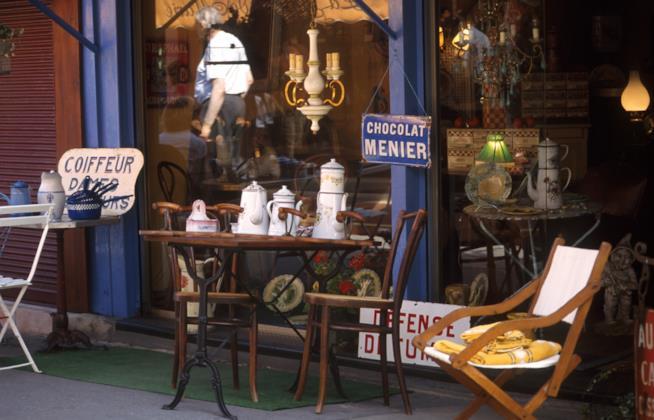 mercato delle pulci di Saint Ouen