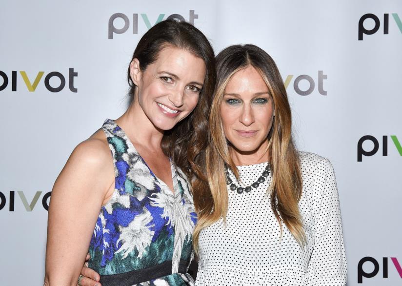 Kristin Davis e Sarah Jessica Parker