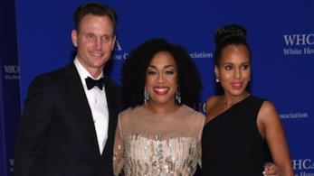 Il cast di Scandal alla Casa Bianca