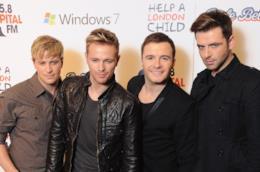 La boy band irlandese Westlife