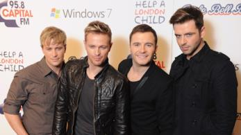 La boy band irlandese Westlife
