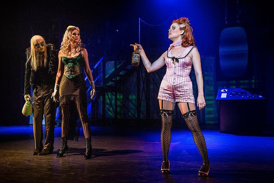 Columbia sul palco del The Rocky Horror Show