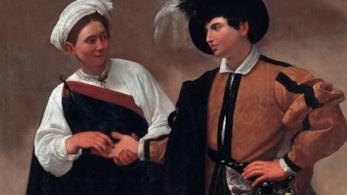 Il quadro di Caravaggio La buona ventura