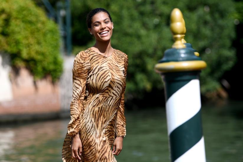 Tina Kunakey a Venezia 75