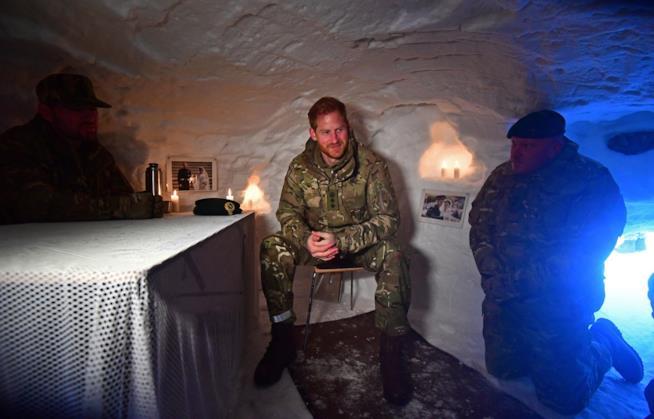 Il Principe Harry in Norvegia